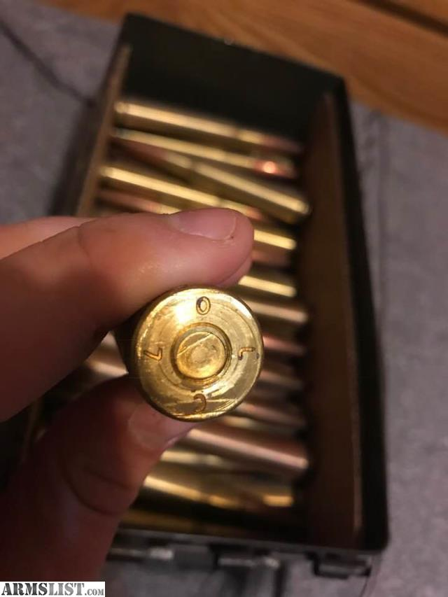ARMSLIST - For Sale: 50 BMG Ammo - 40.3KB