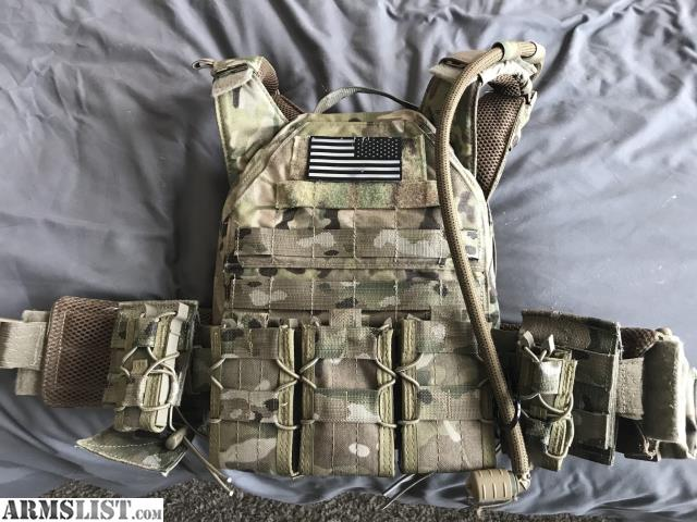 Good Excellent Condition, Never Really Used Tactical Tailor Fight Light Plate  Carrier In Multicam With Front And Back Ceramic Plates. Good Ideas