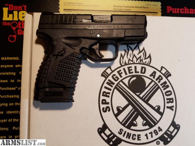 new springfield singles In the wake of its highly successful striker-fired pistols, springfield is carving a new path with a da/sa meet the new springfield xde.