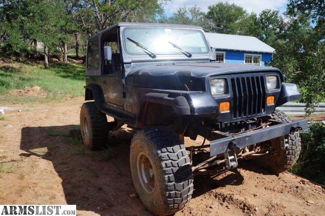armslist for sale jeep wrangler 1995. Black Bedroom Furniture Sets. Home Design Ideas
