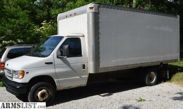 armslist for sale trade 2002 ford e350 super duty 14 39 box truck. Black Bedroom Furniture Sets. Home Design Ideas