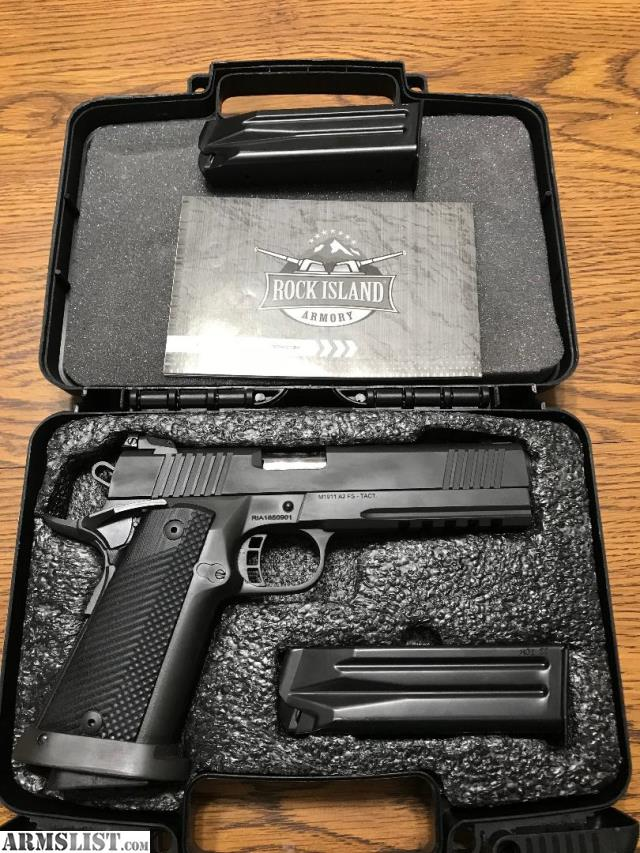 ARMSLIST - For Sale: Rock Island 1911-A2 Tactical 9mm