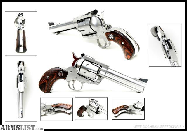 ARMSLIST - For Sale: Custom Ruger Blackhawk Birds Head 357