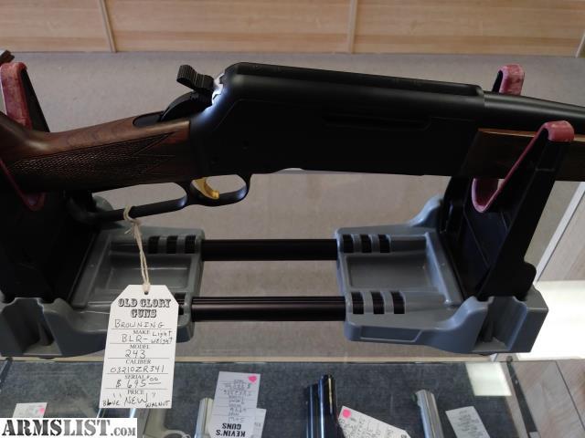 ARMSLIST - For Sale: Browning BLR - Lightweight (243)