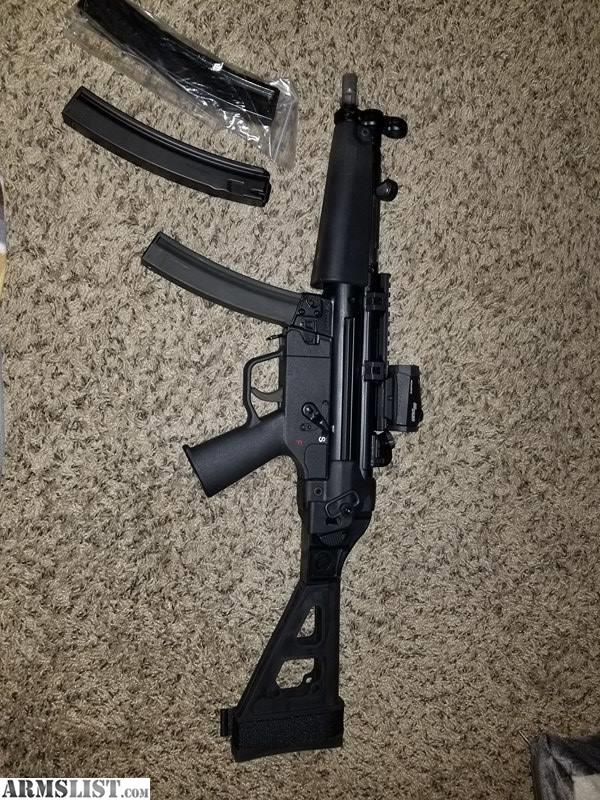 ARMSLIST - For Sale/Trade: CA94 MP5 Clone w/ HK INTERNALS