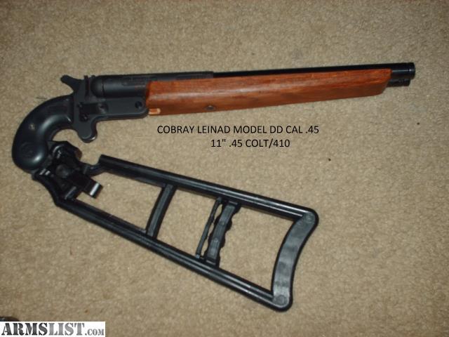 ARMSLIST - For Sale: Lienad Cobray 410/ 45LC