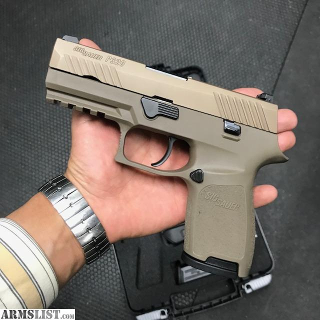 ARMSLIST - For Sale: Sig Sauer P320 Full FDE Compact 9mm