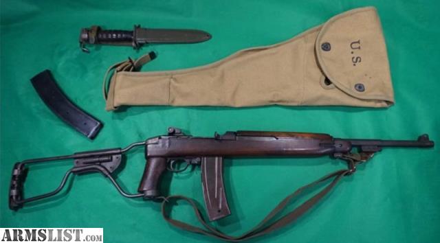 ARMSLIST - For Sale: Original Inland M1 / M2 Paratrooper 30