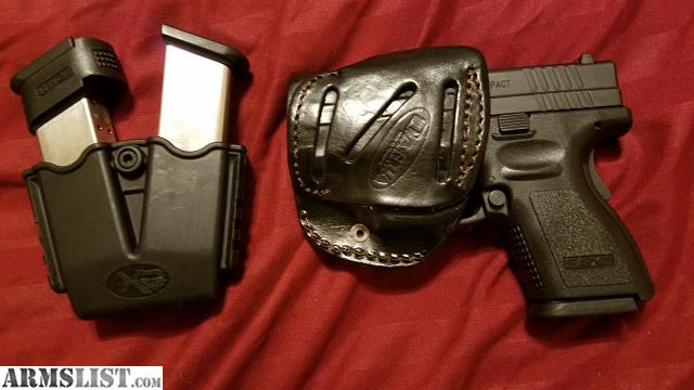 ARMSLIST - For Sale: Subcompact Xd 40 w holster clip holster