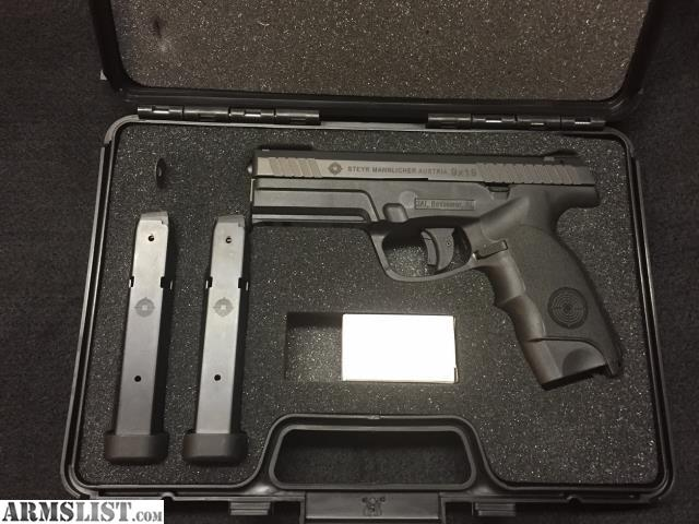 ARMSLIST - For Sale: Steyr L9-A1 9mm pistol and accessories