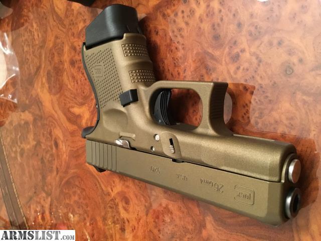 Armslist For Sale Glock 26 Gen 4 Burnt Bronze Lnib