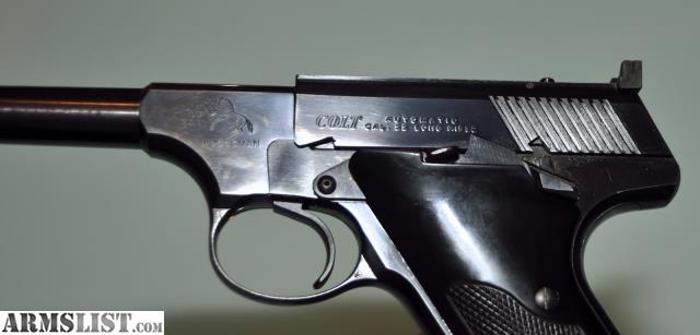 ARMSLIST - For Sale: Colt Woodsman 22lr Pistol - 1957 ...