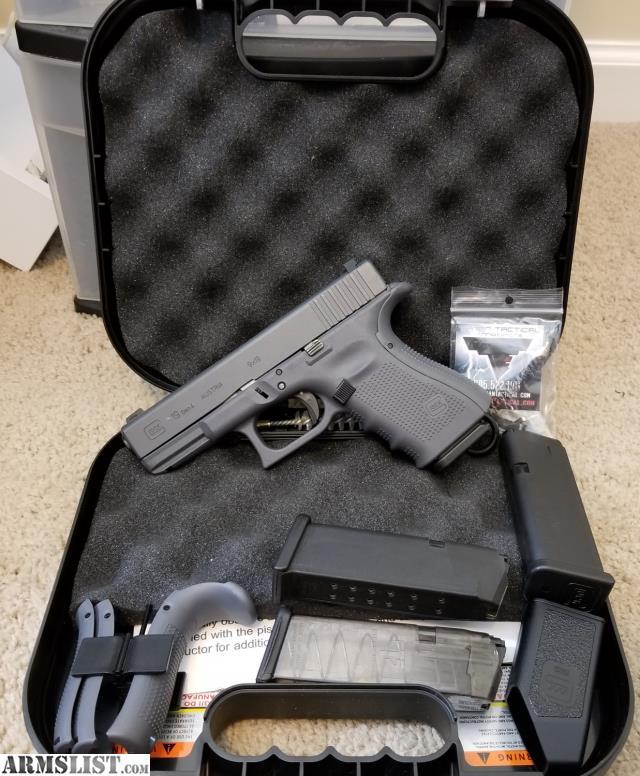 ARMSLIST - For Sale: Grey Glock 19 Gen 4 w/ Original Box, 4