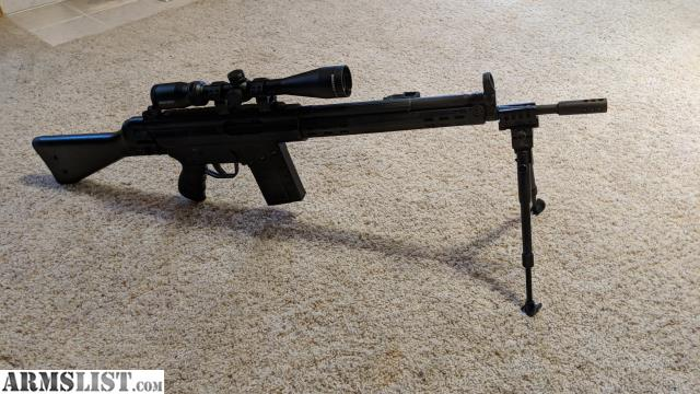 ARMSLIST - For Sale/Trade: HK G3 semi auto  308 clone