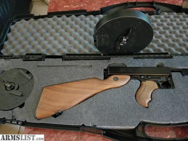ARMSLIST - For Sale: Thompson sub machine gun Model # 1927 A1