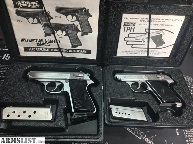 armslist for sale walther ppks and tph rh armslist com Walther PPK 380 Stainless Walther PPK 380 Auto