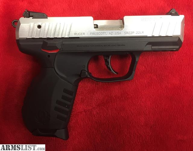 Armslist for sale ruger sr22 22lr two tone inv g 106140 1 for Golden nugget pawn jewelry holiday fl