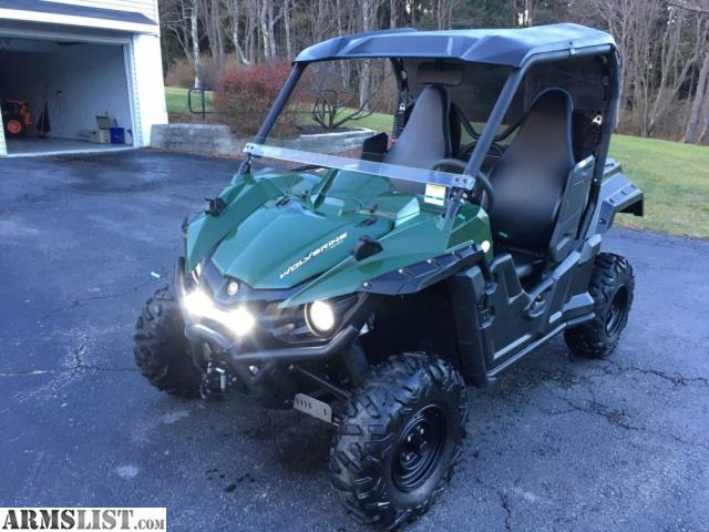 armslist for sale 2015 yamaha wolverine 700 r spec 4x4 eps