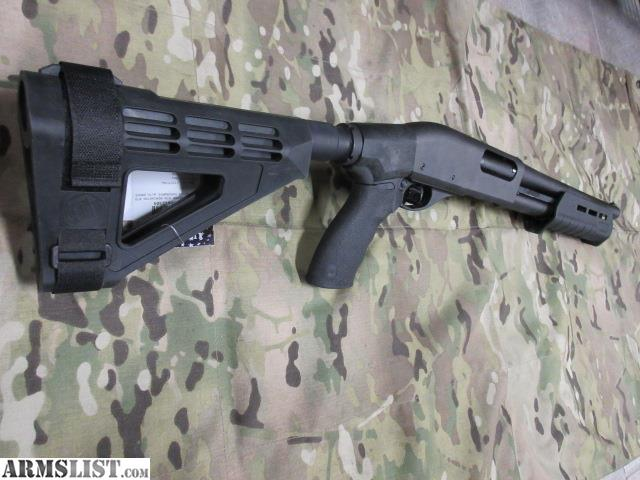 Faaqidaad : Remington 870 tac 14 arm brace for sale