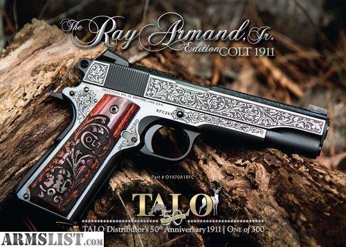 ARMSLIST - For Sale: NEW COLT 1911 TALO 50TH ANNIVERSARY RAY ARMAND