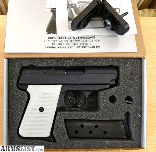 ARMSLIST - For Sale: N I B  JIMENEZ ARMS J A   380 Semi Auto pistol