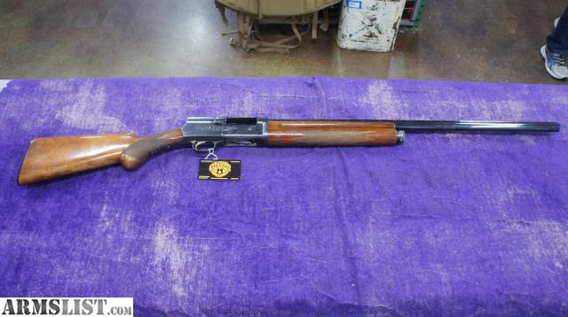 For Sale: Browning A5 Semi-Auto Shotgun In 12