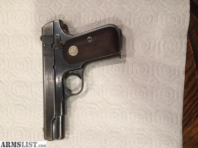 ARMSLIST - For Sale: Colt 1903 32acp