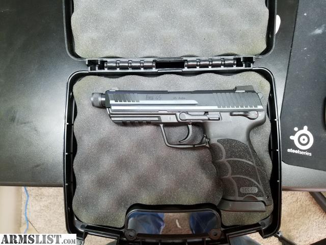ARMSLIST - For Sale: HK45 Tactical w/ threaded barrel