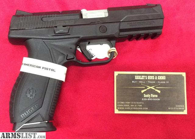 ARMSLIST - For Sale: Ruger American 9mm