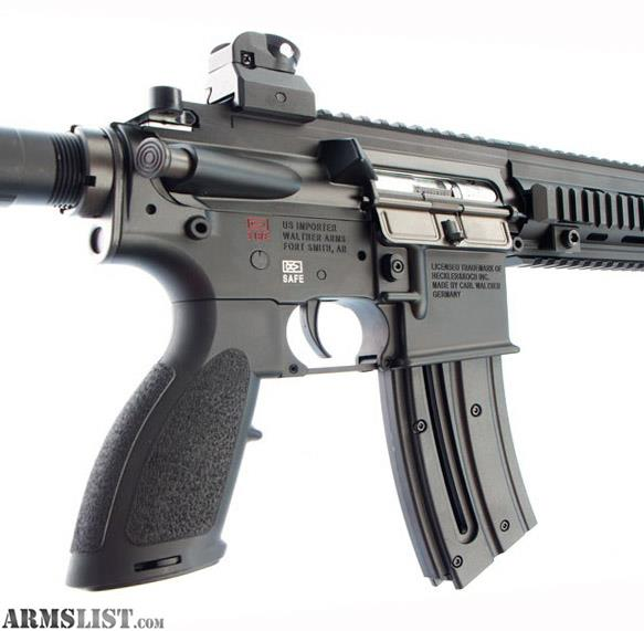 For Sale: HK 416D 22LR By Walther