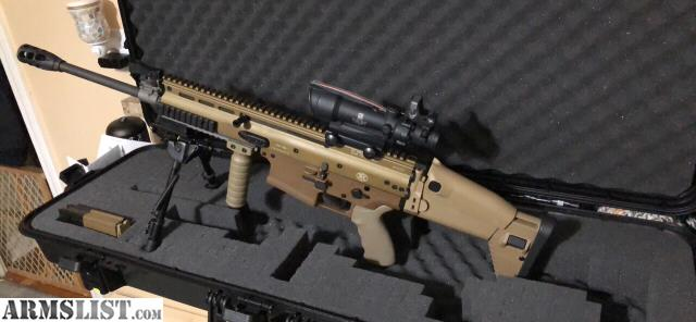 ARMSLIST - For Sale/Trade: FN SCAR 17 FDE with acog/rmr extras