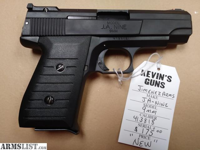 ARMSLIST - For Sale: Jimenez Arms JA-Nine (9MM)