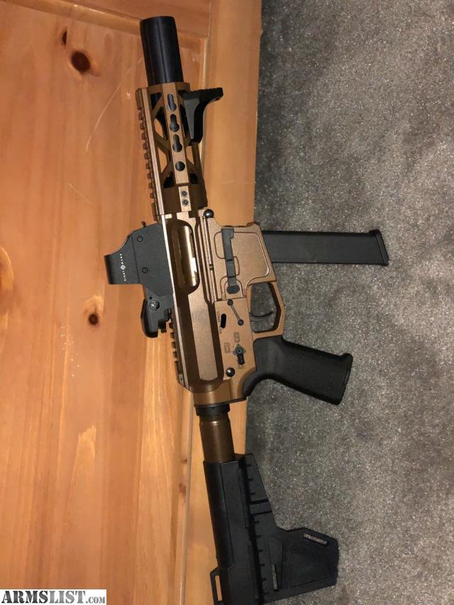 ARMSLIST - For Sale: Ar15 9mm pistol
