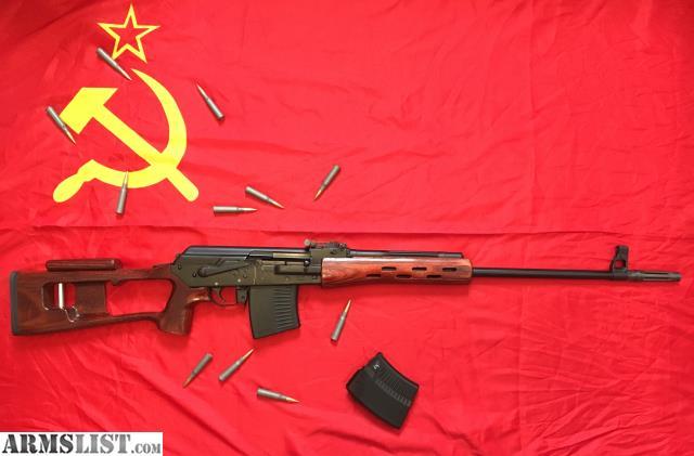 Resultado de imagen para SVD, un rifle 7.62x54R