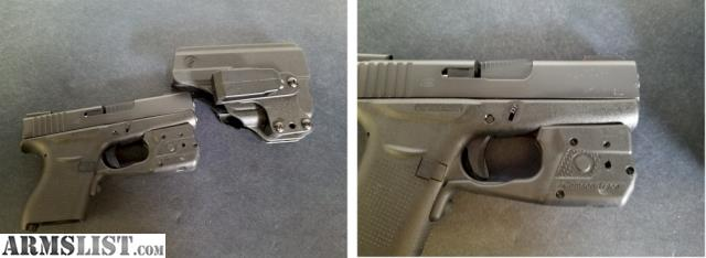 ARMSLIST - For Sale: Crimson Trace Laserguard Pro for Glock 43