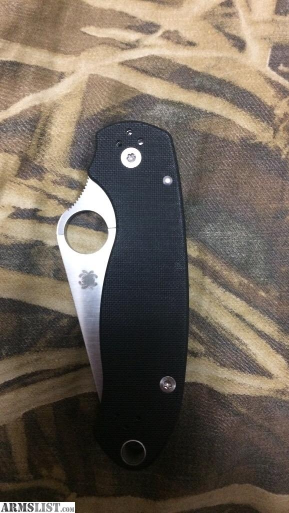 ARMSLIST - For Sale/Trade: Spyderco Paramilitary 3