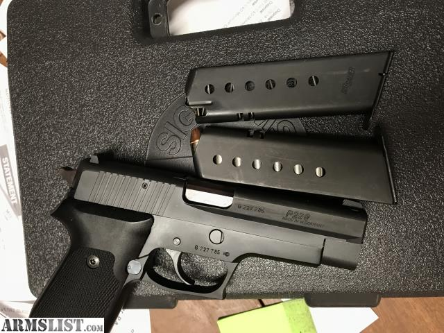 Armslist For Sale Wts Minty Sig P220 W German G10 Grips