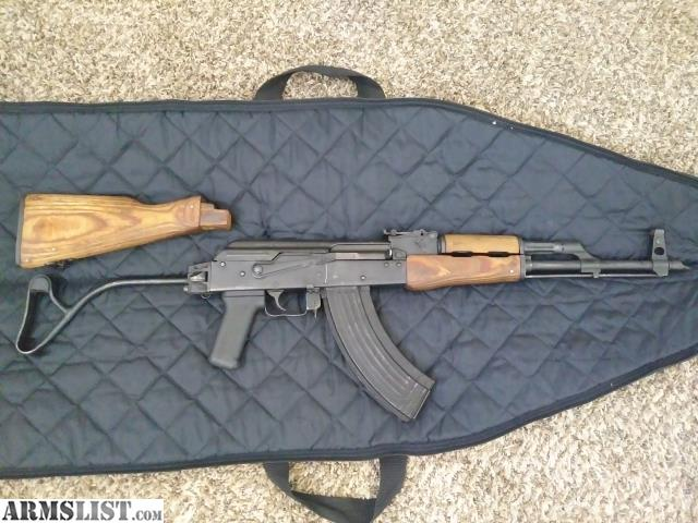 ARMSLIST - For Sale: Romanian ak 47 with 1600 rounds and 16 mags
