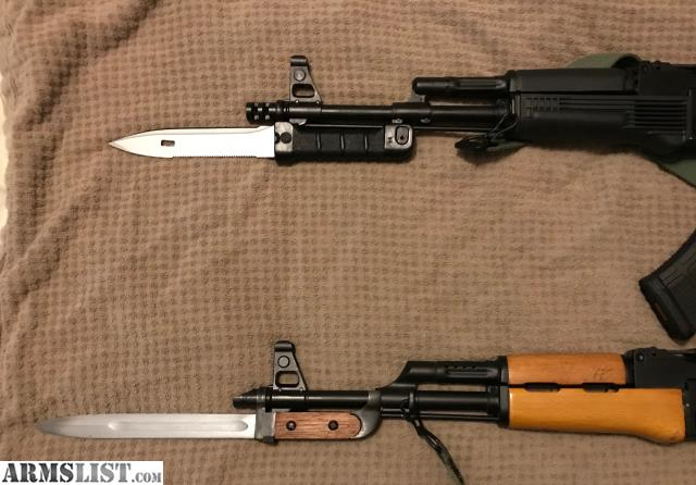 ARMSLIST - For Sale: Arsenal MILLED AK-47 rifles with bayonets!
