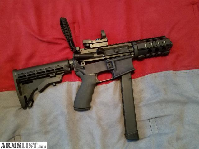 armslist for sale ar 15 9mm conversion 80 lower