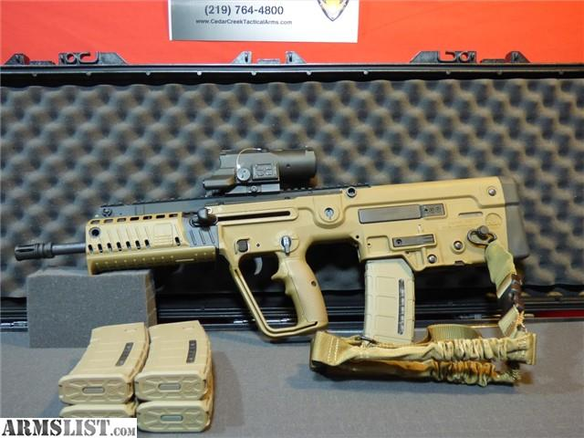 Armslist For Sale Iwi X 95 Deluxe Tactical Kit
