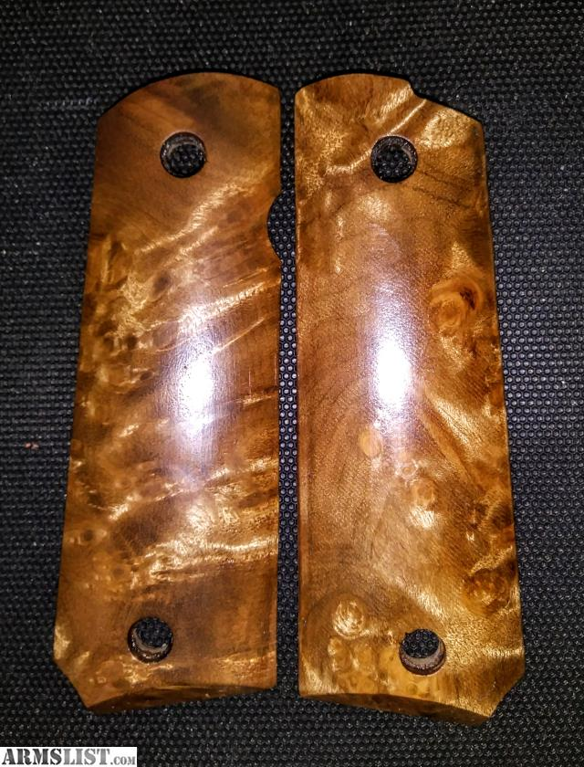 ARMSLIST - For Sale: 1911 Wood Grips