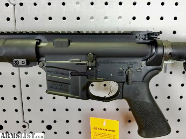 Armslist For Sale Savage Arms Msr 15 Recon Lrp 224 Valkyrie
