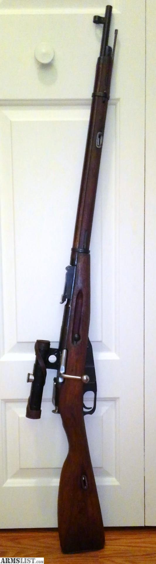 Armslist For Sale Mosin Nagant 91 30 Sniper Rifle Parts Diagram 1944 Izhevsk With Clear Scope And Covers Bent Bolt All Original This Version Was Given To Yugoslavia By Russia
