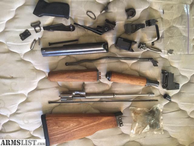 ARMSLIST - For Sale: Demilled Zastava AK kit