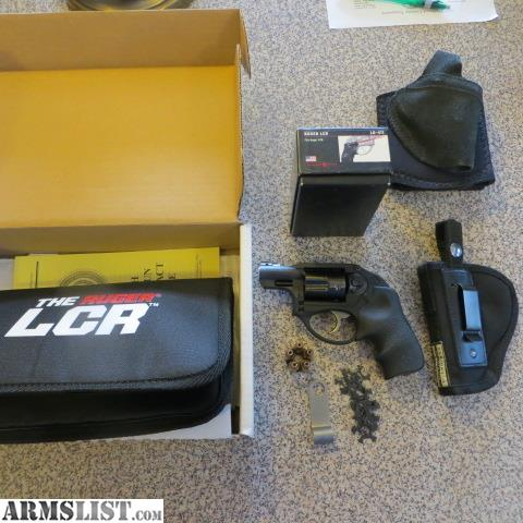 ARMSLIST - For Sale: Ruger LCR 9mmr