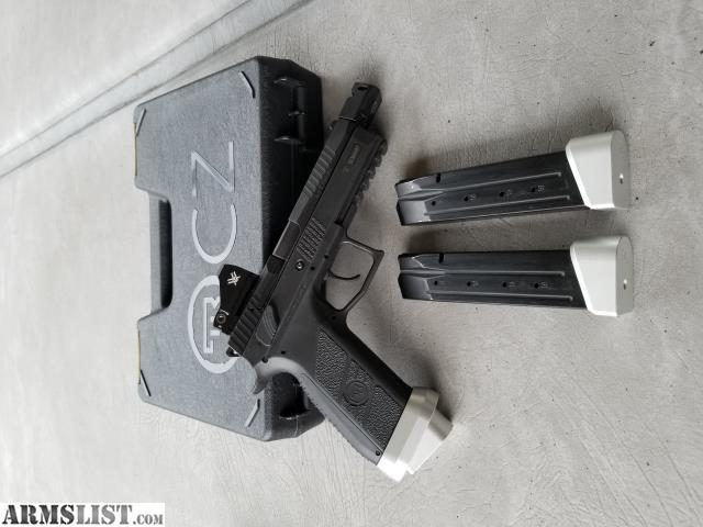 ARMSLIST - For Sale/Trade: Competition CZ P09 9MM
