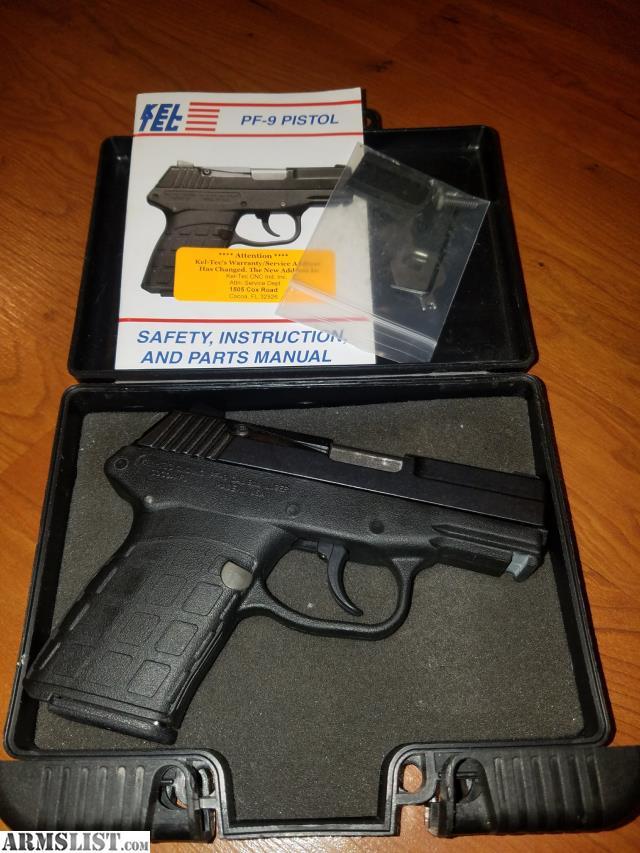 armslist for sale kel tec pf9 rh armslist com kel tec pf9 owners manual pdf Kel-Tec Sub 2000