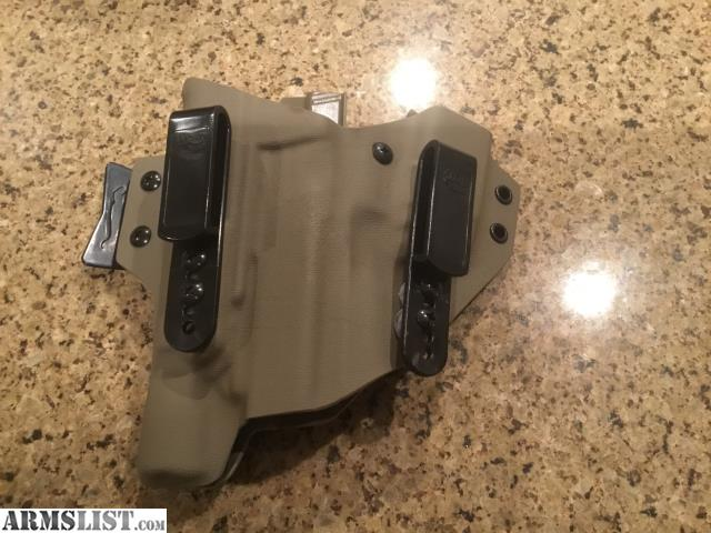 ARMSLIST - For Sale: T-Rex Side Car Appendix Holster Glock 17