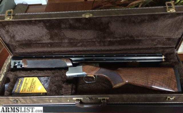 Armslist For Sale Browning 725 Sporting 28 Gauge 30 Inch